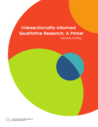 Hunting G, Intersectionality-informed Qualitative Research: A Primer, 2014, The Institute for Intersectionality Research & Policy, SFU, ISBN: 978-0-86491-357-9.