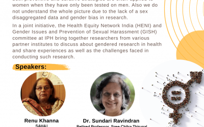 GENDERED RESEARCH IN HEALTH